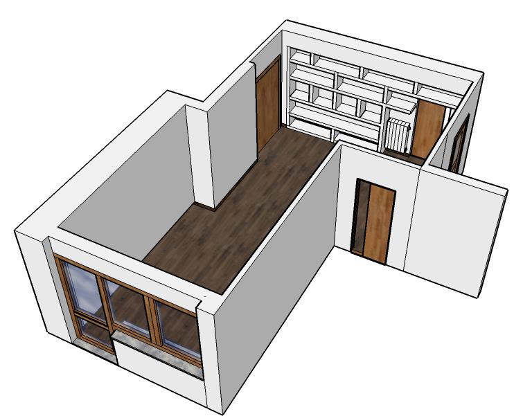 Progetto zona living ingresso soggiorno creazioni d 39 arte for Ingresso living su soggiorno