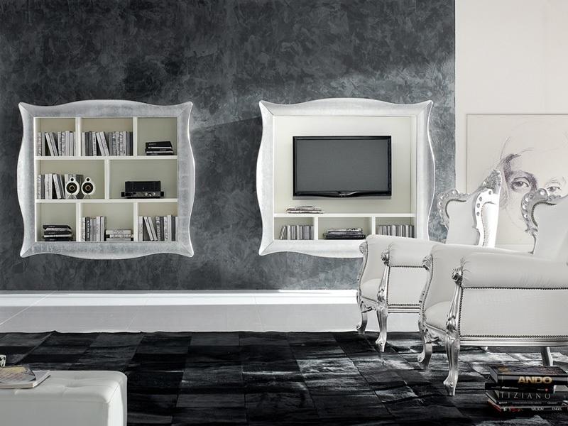 Stile barocco l arte in casa creazioni d 39 arte di - Mobili stile moderno contemporaneo ...